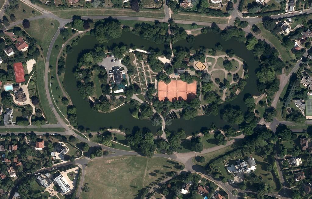 Photo des Ibis par satellite