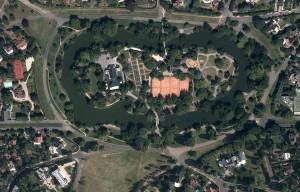 Photo satellite des Ibis