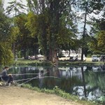 Pêcheurs au Vésinet années 50